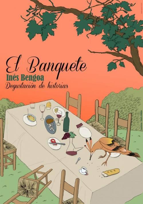 Ines Bengoa El Banquete Cartelm-
